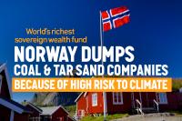NorwayDumpsFossilFuelInvestments
